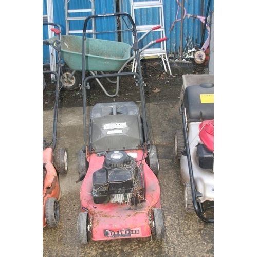 60 - RED LAWN MOWER (SPARES)...