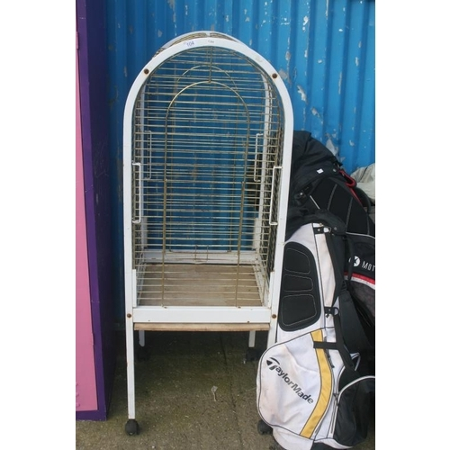104 - PARROT CAGE...