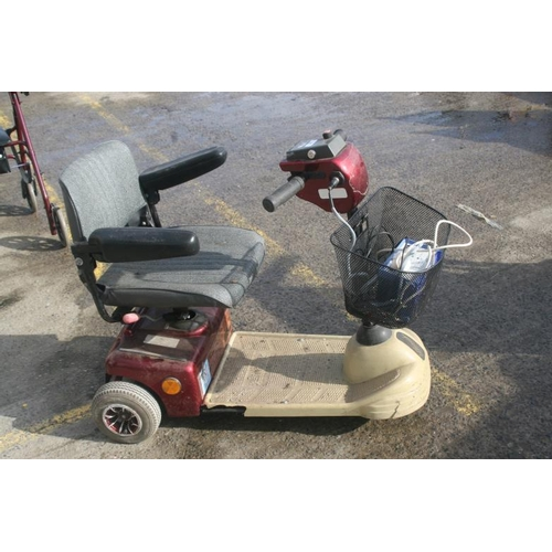 58 - SHOP RIDER MOBILITY SCOOTER (WORKING CONDITION UNKNOWN)...