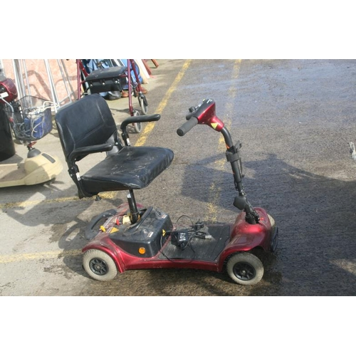 60 - RIDE ON MOBILITY SCOOTER (WORKING ORDER UNKNOWN)...
