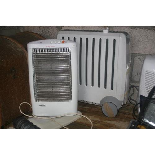 60 - 2 ELECTRIC HEATERS...
