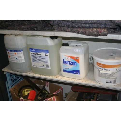 25 - SELECTION OF DETERGENTS...