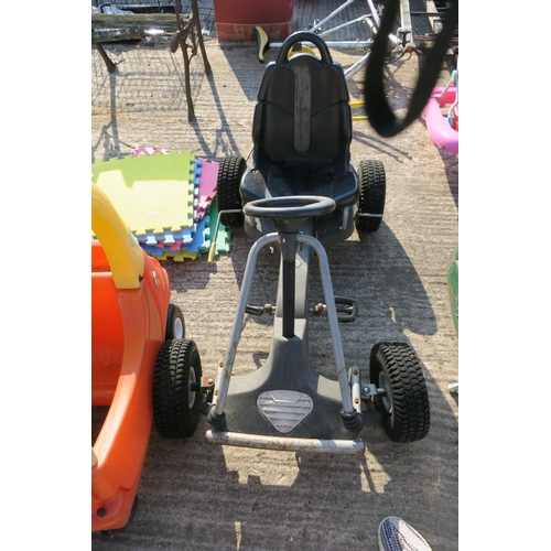 31 - NITRO XTREME GO KART (STEERING NEEDS ATTENTION)...