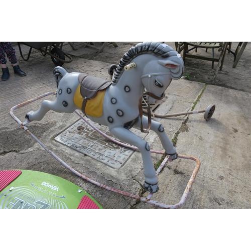 50 - PLASTIC ROCKING HORSE...