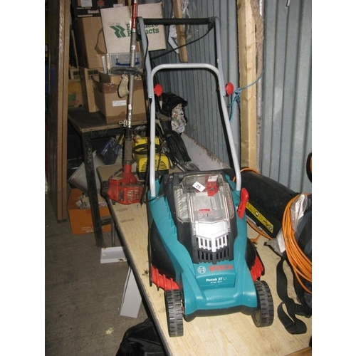 25 - BOSCH BATTERY MOWER - NO BATTERY OR CHARGER...
