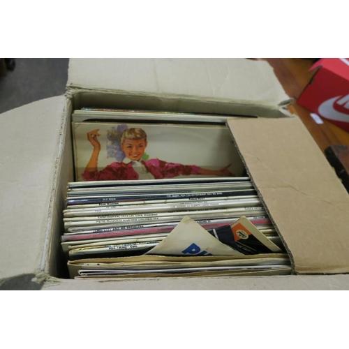 31 - BOX OF RECORDS...