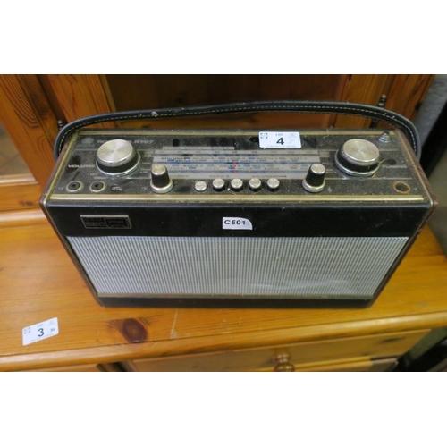 4 - ROBERTS R707 RADIO...