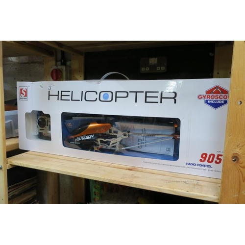 43 - DOUBLE HORSE RADIO CONTROL HELICOPTER...