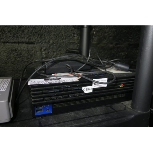 51 - PS2 CONSOLE - UNKNOWN CONDITION...