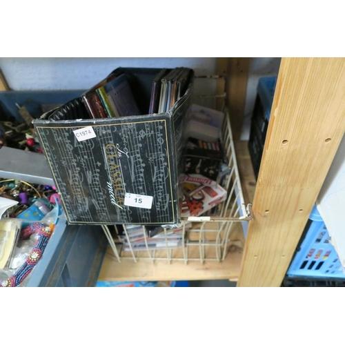 15 - CDS, BOOKS ETC...