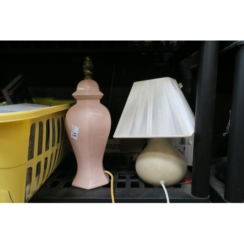 51 - 2 TABLE LAMPS...