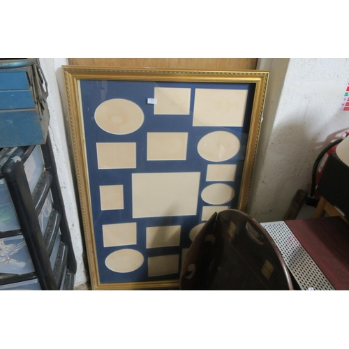 71 - LARGE PICTURE FRAME BROKEN GLASS
