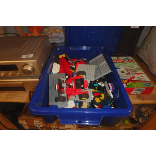 48 - SMALL CRATE OF LEGO