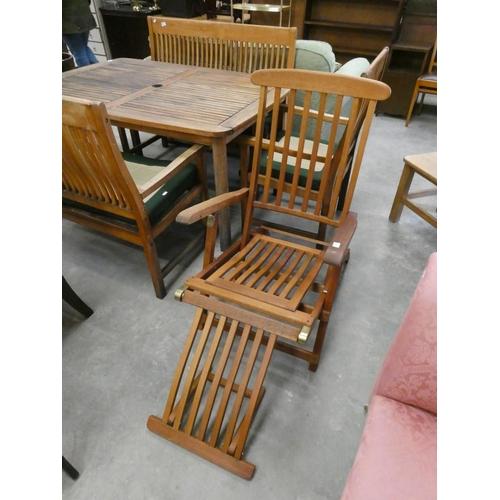 Danish steamer chair