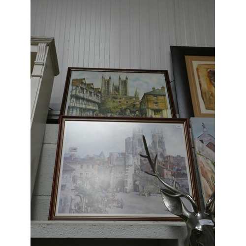Pair of framed Sturgeon prints