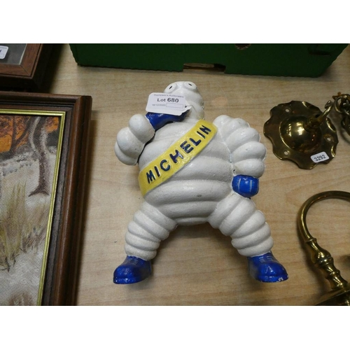 "Cast ""Michelin"" figurine"