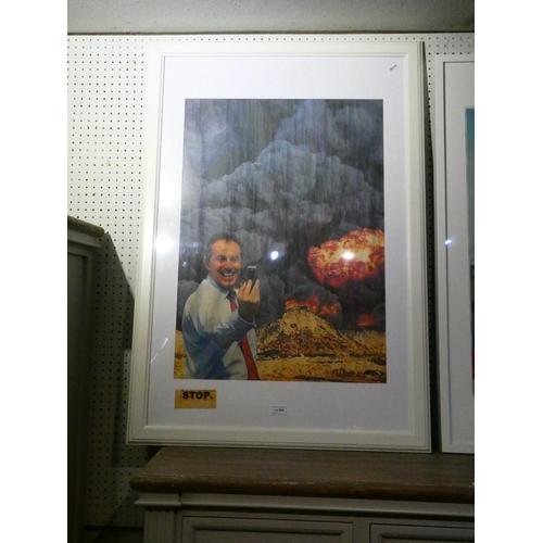 Framed print of Tony Blair