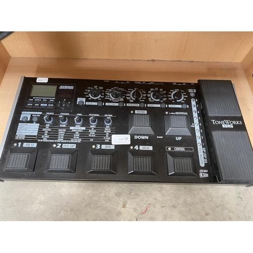 39 - Korg Tone Works AX3000G electric guitar processor (no power lead)