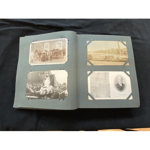58 - Album of approximately 81 postcards inc. some early photographs inc. local interest