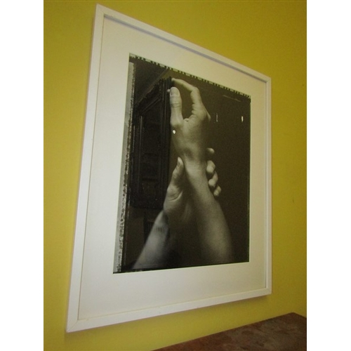43 - Amelia Stein RHA Hands Original Photograph Label Verso Approximately 24 Inches High x 20 Inches Wide...