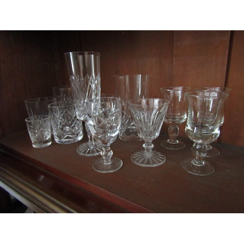 56 - Collection of Various Waterford Crystal Glasses and Others Quantity As Photographed...
