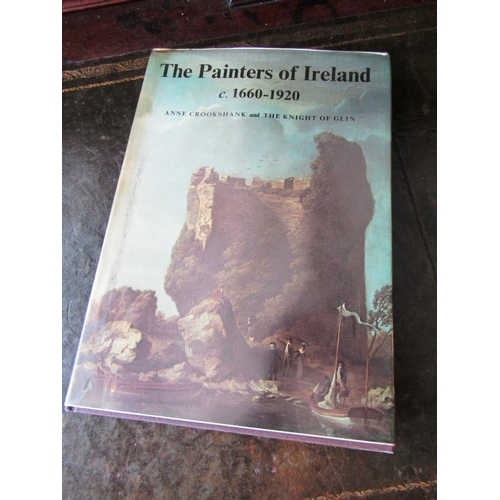 Painters of Ireland c1660 to 1920 Hardback Volume First Edition by Anne Crookshank The Night of Glynn Good Original Condition