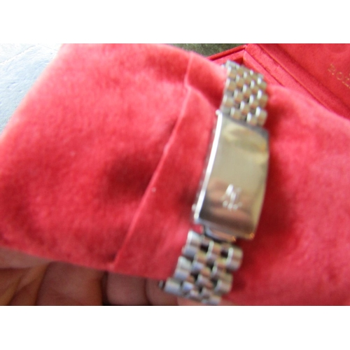 12 - Rolex Datejust Metal and White Gold Wristwatch Jubilee Bracelet Diamond Decorated Bezel Purchased by...