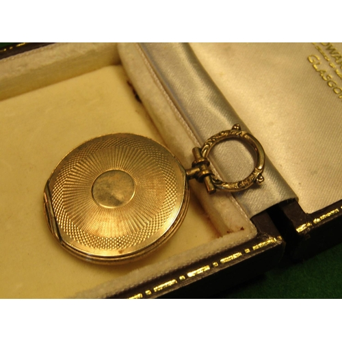 29 - Victorian 9 Carat Gold Locket with Hinged Cover and Interior Photograph Good Weight...
