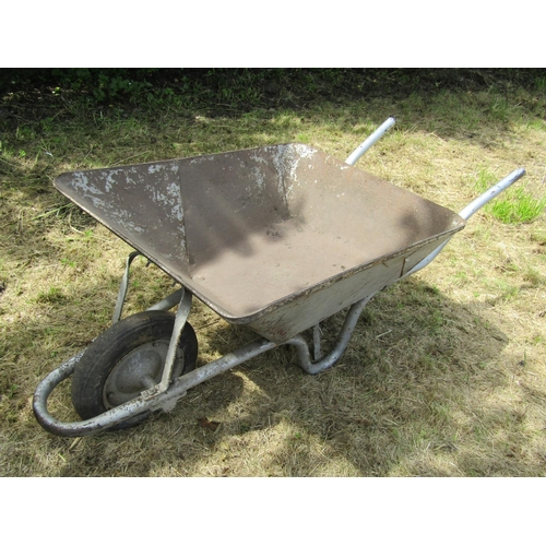 1003 - Wheelbarrow Metal Framed Good Order...