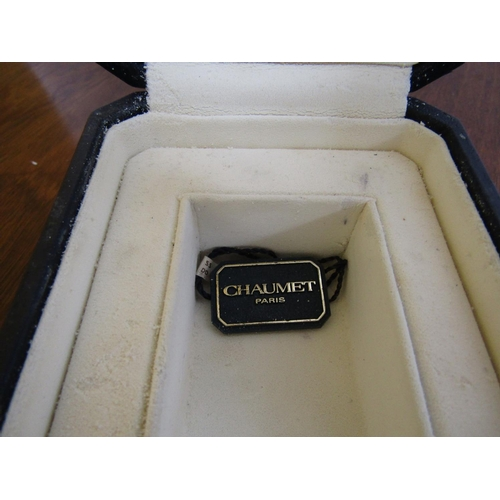 426 - Chaumet Ladies Tank Wristwatch with Original Box and Papers...