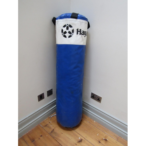 Hayashi Boxing and Kickboxing Bag with Metal Ceiling Hinge Approximately 4ft 6 Inches High