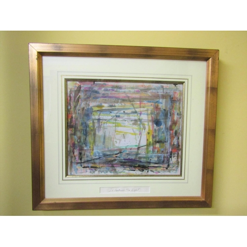 276 - JP Donleavy 'Is Darkness the Light' Contained within Gilded Frame Signed Lower Right and Titled by t...