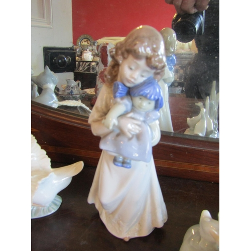 35 - Collection of Various Porcelain Including Lladro and Nao Quantity As Photographed...