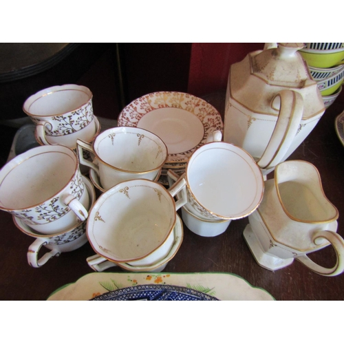 40 - Collection of Various Porcelain Including Crescent etc Quantity As Photographed...
