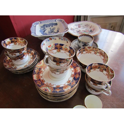 51 - Collection of Various Old Porcelain Ware Part Dinner Service etc Roslyn China, Ashworth Brothers Chi...