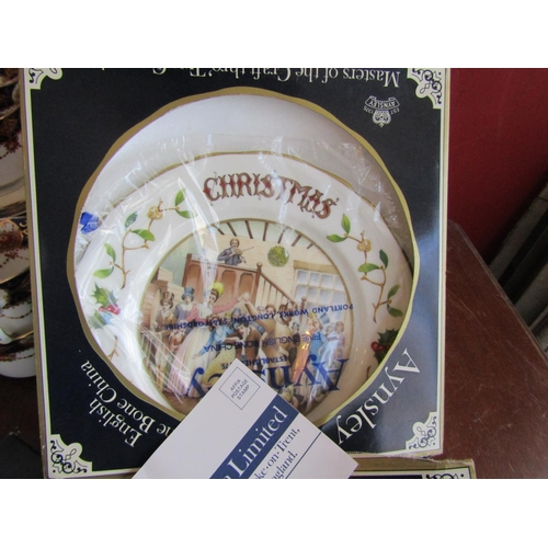 53 - Collection of Various Old Porcelain Including Royal Albert Bone China and Table Coasters in Box with...