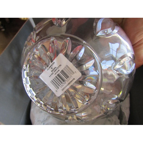 57 - Waterford Crystal Bowl and Taza Two Items in Lot includes Original Packaging for Bowl...