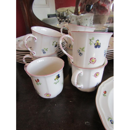 58 - Villeroy & Boch Petite Fleur Country Collection Dinner Service Quantity As Photographed Good Origina...
