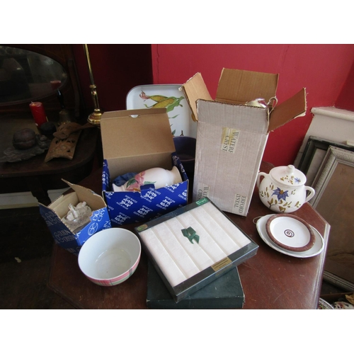 60 - Collection of Various Items Including Waterford Crystal and Linen Napkins Quantity As Photographed...