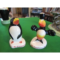 Two Guinness Advertisement Figures Carlton Ware Two Guinness Advertising Figures Carlton Ware Penguins Tallest Approximately 4 Inches High Good Original Condition