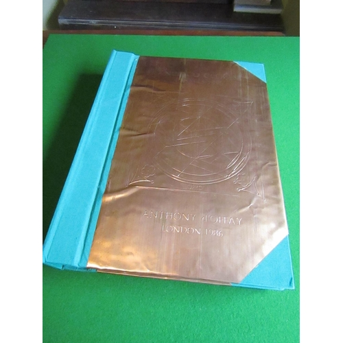 12 - Francesco Clemente Unusual Copperbound Book of Various Lithographs Published by Anthony d'Offay Good...