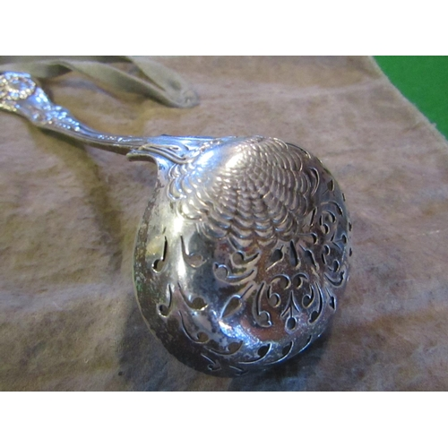 44 - Solid Silver Sugar Shifter Spoon by Samuel Hayne and Dudley Cater Hallmarked 1843 London...