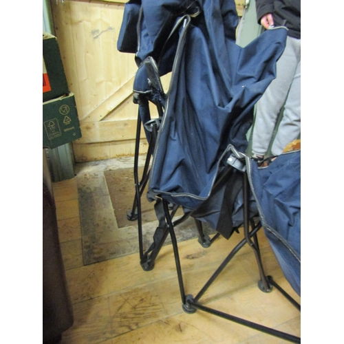 3 - Fold Out Lounge Chair with Leg Rest with Original Carry Bag...