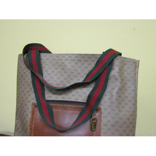 35 - Gucci Travel Bag Approximately 16 Inches High x 12 Inches Wide