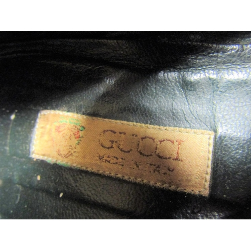 38 - Collection of Ladies Shoes and Slippers including Two Pairs by Gucci and Ladies Carry Bag Leather Ha...