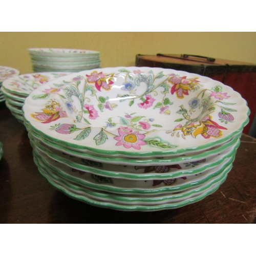 50 - Minton Addon Hall Pattern Part Dinner Service Good Original Condition Quantity As Photographed...