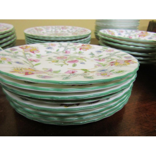 50 - Minton Addon Hall Pattern Part Dinner Service Good Original Condition Quantity As Photographed