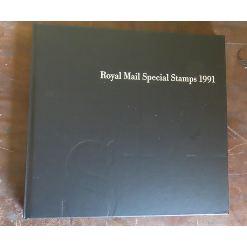 500 - Royal Mail Special Stamps Collection 1991 Mint Condition Contained within Original Hardback Volume O...