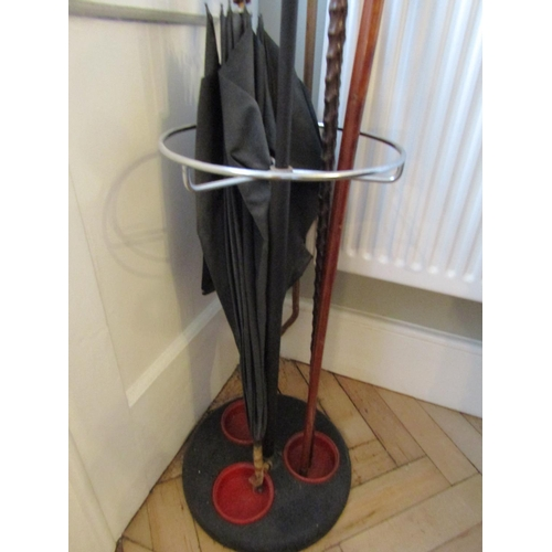 1 - Vintage Stick and Umbrella Stand Approximately 6ft 4 Inches High...