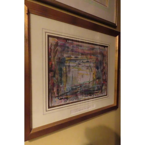 264 - JP Donleavy (1926 - 2017) Is Darkness the Light Watercolour Approximately 14 Inches x 17 Inches Sign...